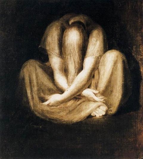 Silence by Henry Fuseli (1800)