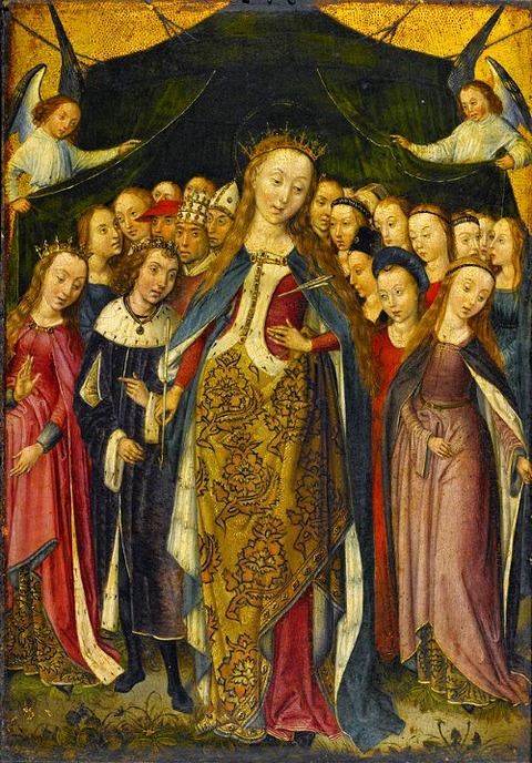 St Ursula Virgins The Master of the Legend of Saint Barbara