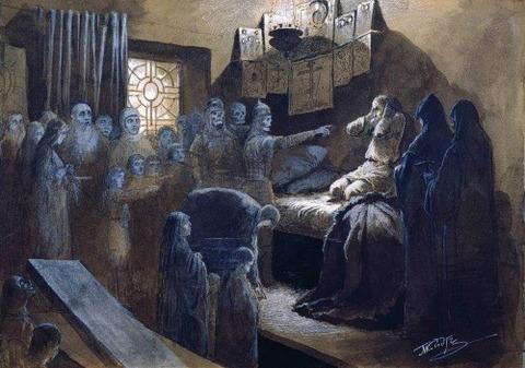 Mikhail Petrovich 1835-1914 Ivan Terrible  Souls  Victims