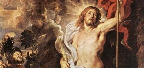 Peter Paul Rubens The Resurrection of Christ - コピー