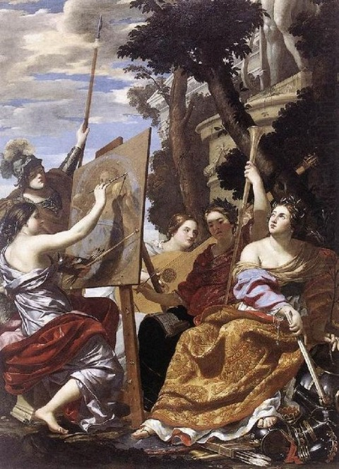 art  Peace by Simon Vouet