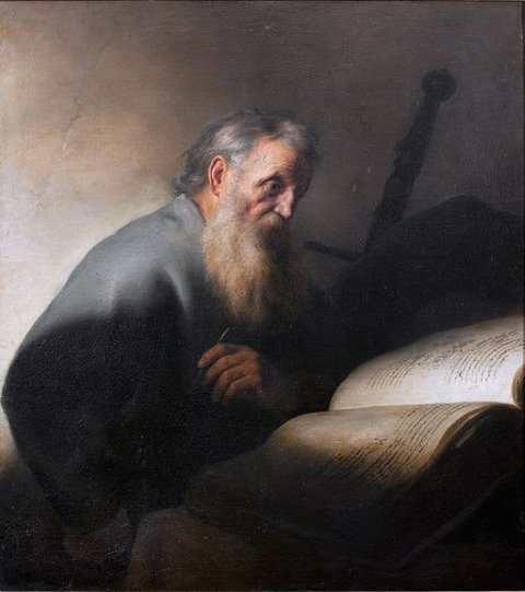 Jan Lievens St Paul 1627-29