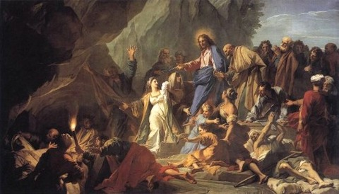 Baptiste Jouvenet The Raising of Lazarus