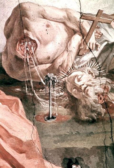 Matthäus Günther  Saint Paul 1740