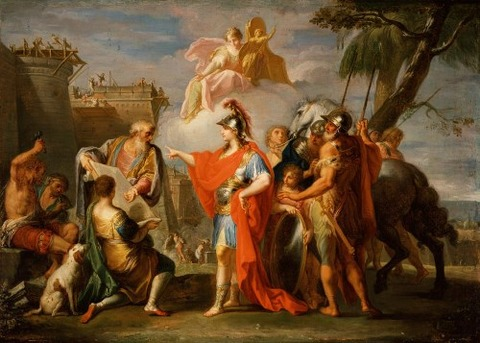 Alexander The Great Founding Alexandria by Placido Costanzi