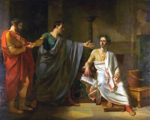 La clémence de César, Abel de Pujol, 1808