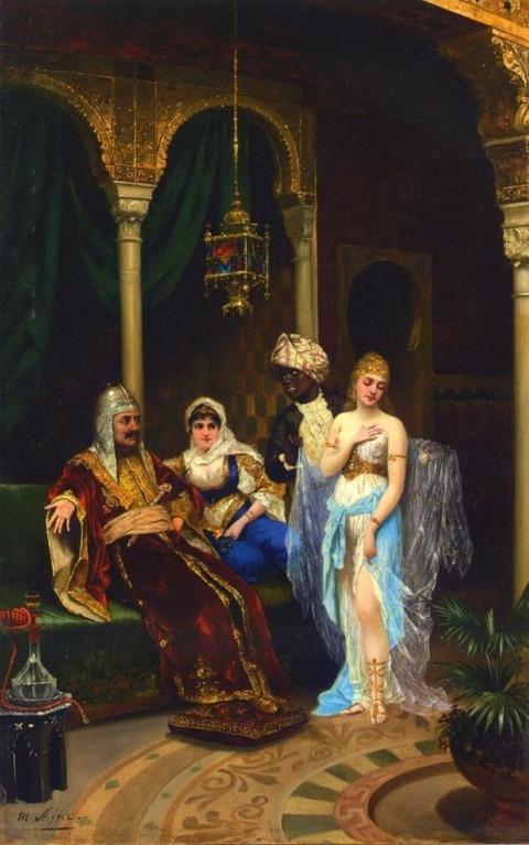 The Rhamazan Bride - Moritz Stifter (1857 -1905 )