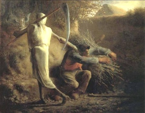 Jean-François Millet, Death and the Woodcutter