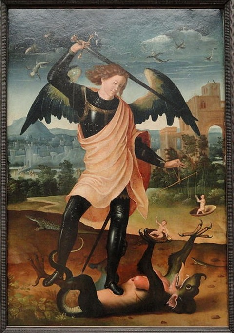 St__Michael_and_the_Dragon_by_unknown_Spanish_artist