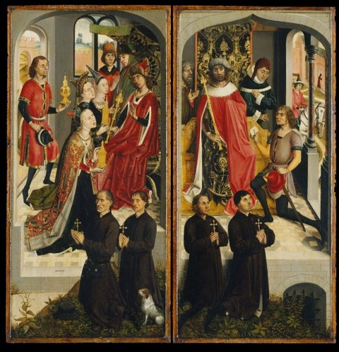 Master of the Saint Barbara Legend 1480