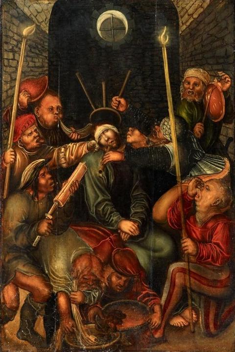 Lucas Cranach the Elder, THE MOCKING OF CHRIST