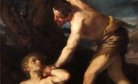 Cain_Killing_Abel,17th_(Gaetano_Gandolfi,_1734-1802) -2