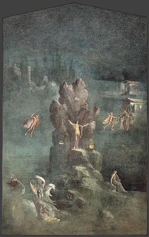 1st  Augustan Roman Wall painting