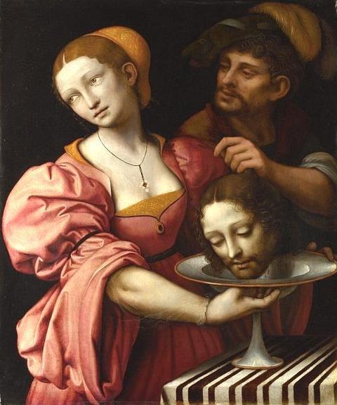 Salome by Giampietrino, 1510-30