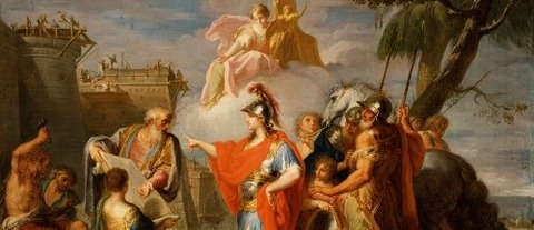 Alexander The Great Founding Alexandria by Placido Costanzi -