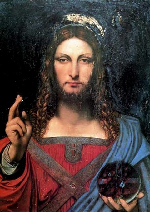 Salvator-Mundi Leonardo da Vinci