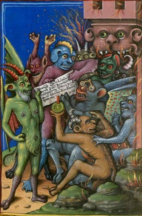 Hellmouth, 1461, Jacobi de Ancharano (alias de Teramo)
