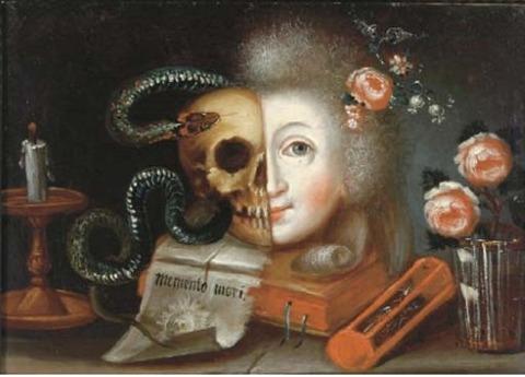 18th century Austrian vanitas