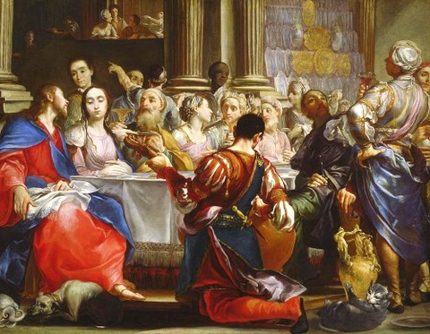 The Wedding at Cana, c.1686 Crespi, Giuseppe Maria