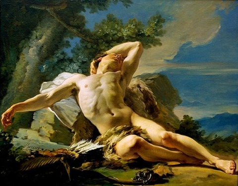 Sleeping Endymion by Nicolas Guy Brenet