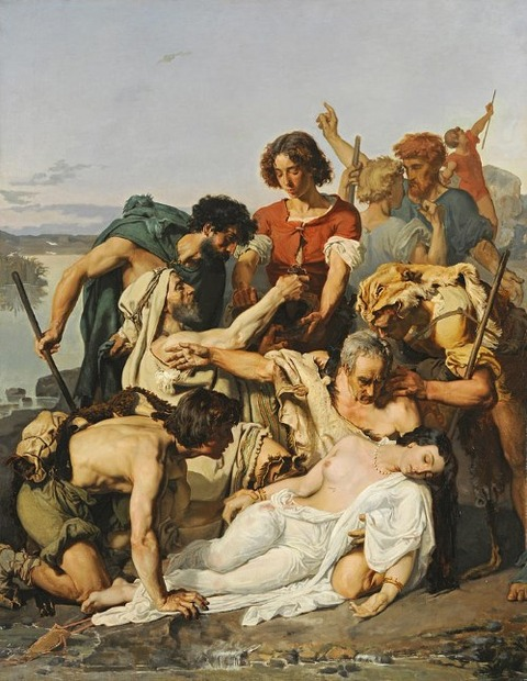 Paul Baudry Zenobia Discovered By Shepherds Banks Araxes