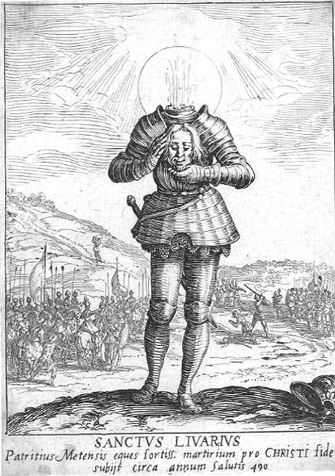 Saint Livier by Jacques Callot