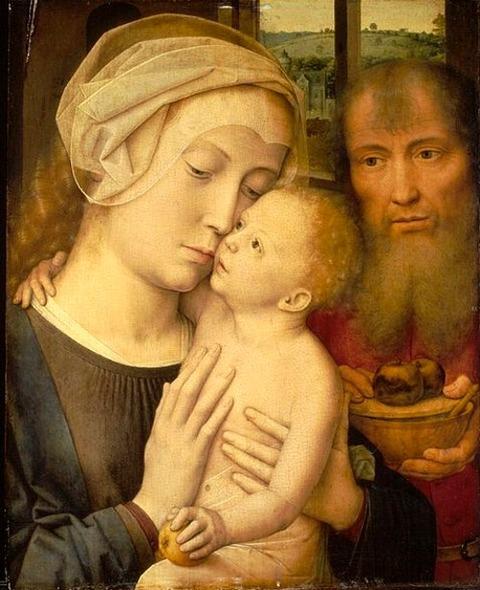 Gerard David - The Holy Family 1529