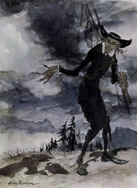 Arthur Rackham- Peer Gynt 3