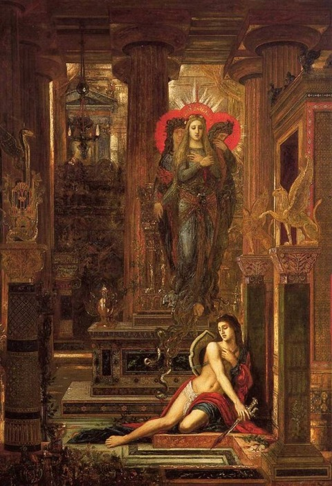 Gustave Moreau  Orestes and the Erinyes  1891