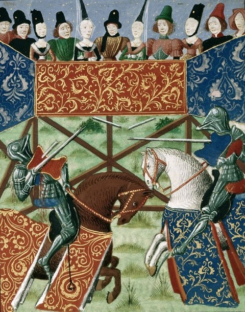 manuscripts of jousting