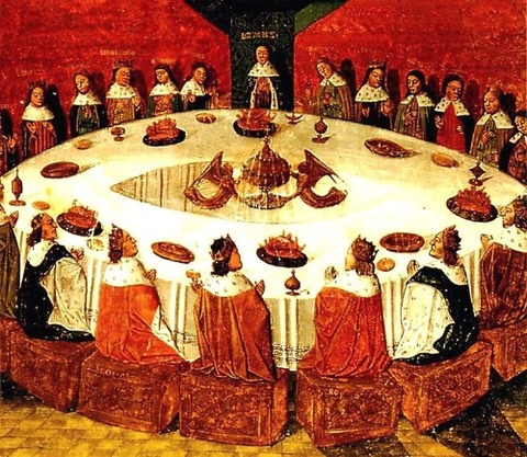 King Arthur and the Knights of the Round Table  1470