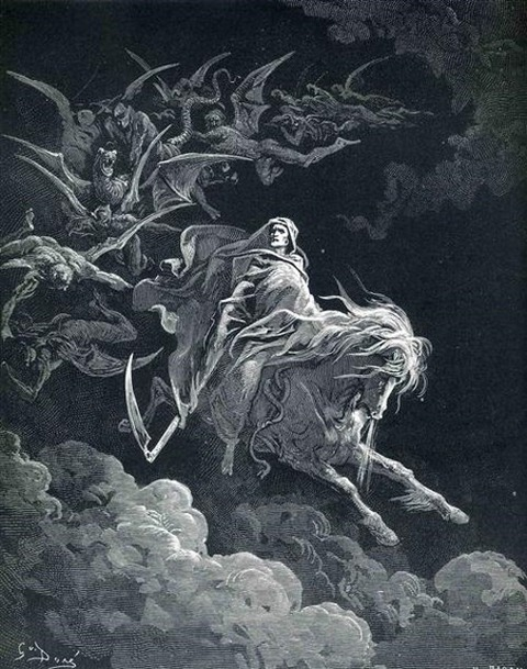 The Vision of Death Gustave Dore 1868