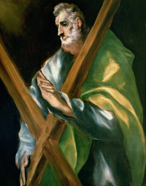 St Andrew by El Greco 1541-1614