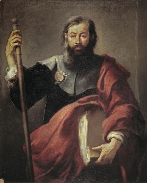 st-james-major-murillo El Apóstol Santiago