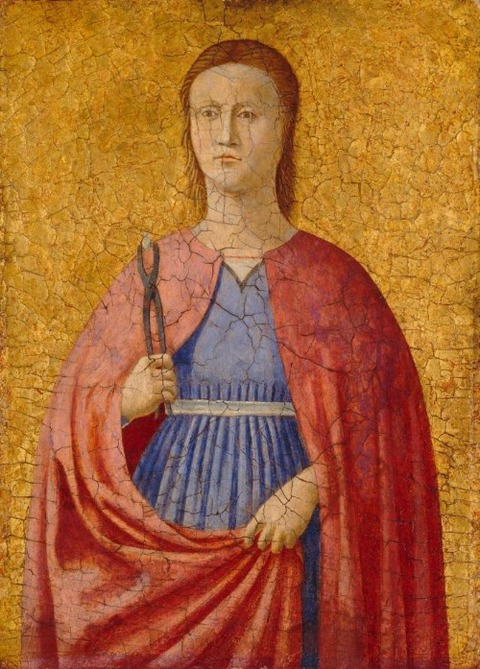 Workshop of Piero della Francesca St Apollonia  1470