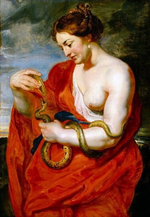 Rubens, Peter Paul - Cleopatra 1615