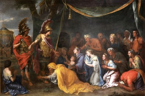 Charles Le Brun   Queens Of Persia At  Feet Of Alexander  1661