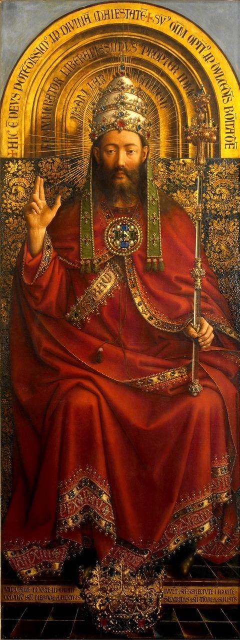 Hubert and Jan Van Eyck God the Father