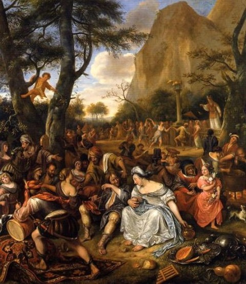 The Worship of the Golden Calf - Jan Steen