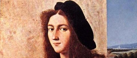 Raphael Sanzio  Raffaello 1483 - 1520 Portrait of a Young -