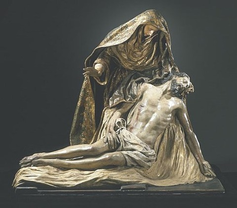 Spanish Pieta – Artist unknown