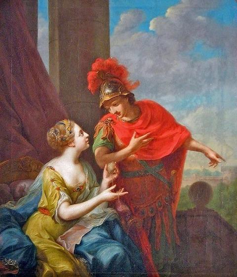 Ariadne Theseus  Thread-Johann Heinrich Tischbein the Elder