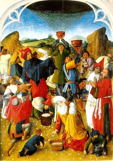 Gathering_of_the_Manna  1460-1470