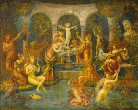 Armand POINT  - La Fontaine de Jouvence 1901