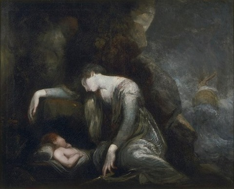Henry Fuseli - Danaë and Perseus on Seriphos 1741-1825