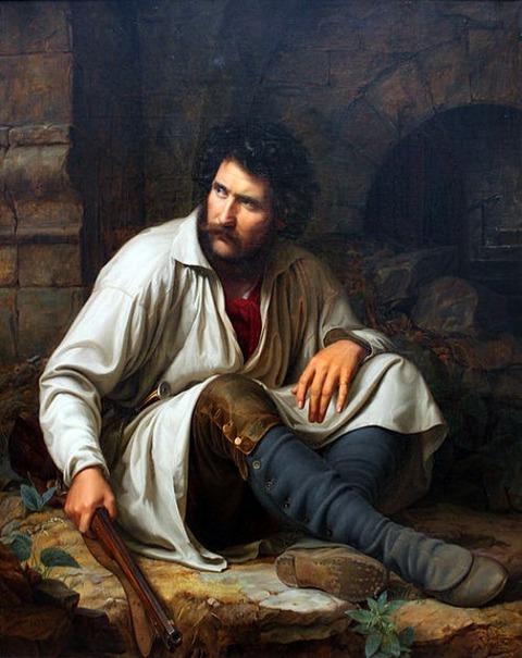 Theodor Hildebrandt  The Robber 1829