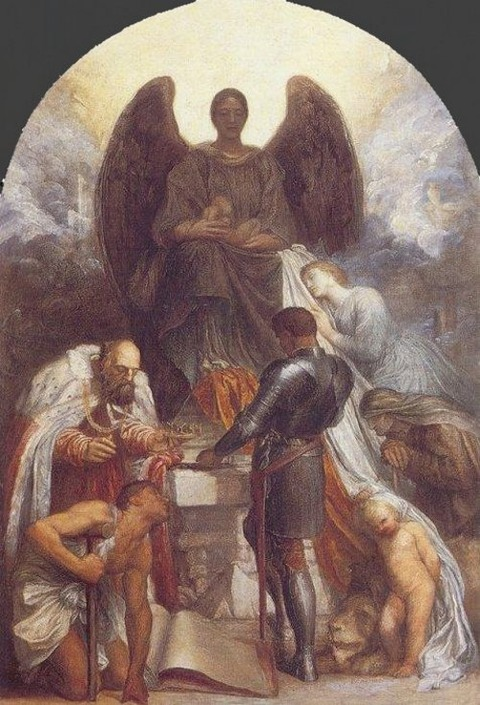 George Frederic Watts 1870 angelofdeath
