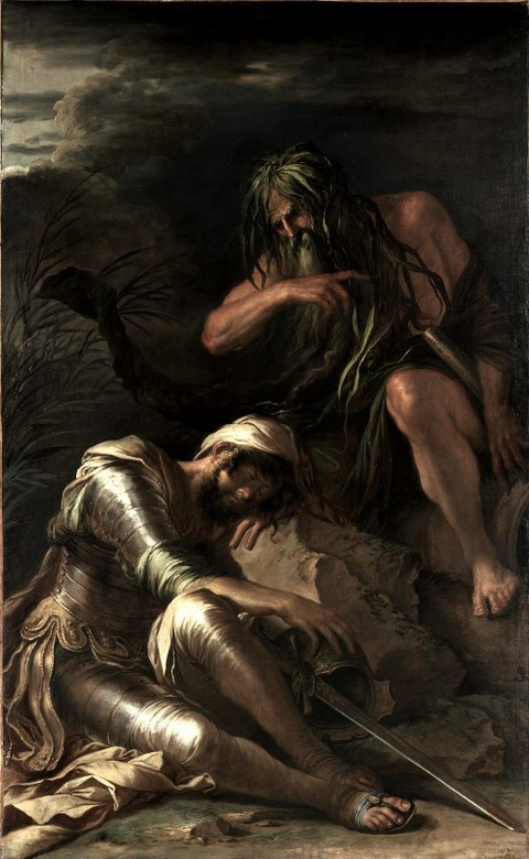 The Dream of Aeneas, 1660-65