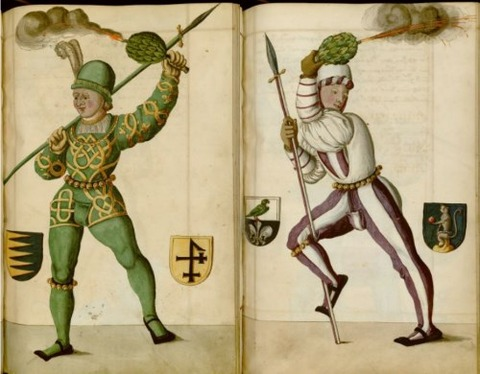Radical Fashion from the Schembart Carnival (1590)6
