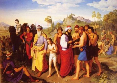 Joseph Being Sold Into Slavery  Alexander Maximilian Seitz